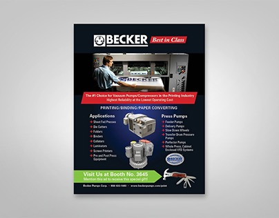 Becker Pumps Corp. Trade Show Promotion and Advertising