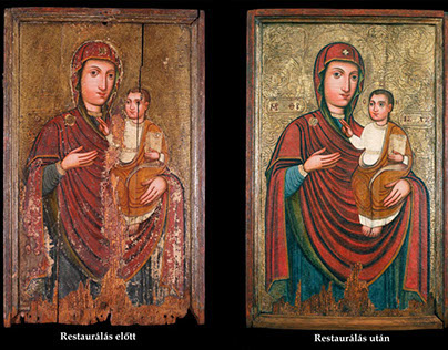 Icon restoration/conservation - my diploma-project