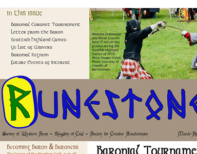 Runestone Redesign | 2018-2019