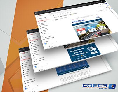 ORECA NEWSLETTERS - E-mails