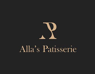 Alla's Patisserie Logo!
