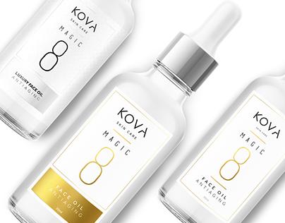 KOVA Label Design