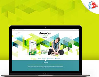 Brosolan. Landing Page