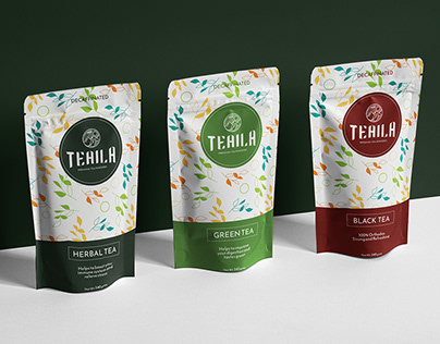 TEAILA - Visual identity & packaging (concept)
