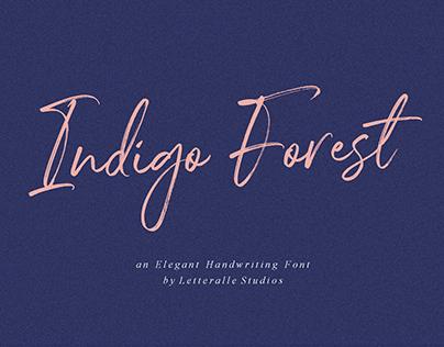 Indigo Forest Font