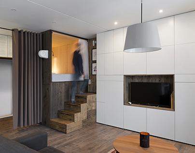 Flat 35 m²