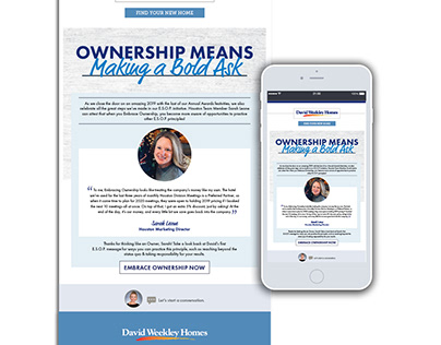 Ownership Means to Me Email Series
