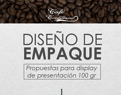 Diseño empaque de cafe