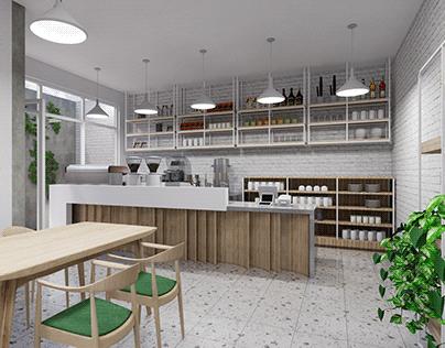 Small Coffee Shop Design III