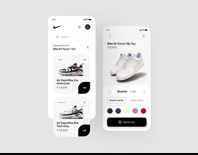 Nike App Design Concept
