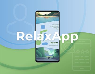 RelaxApp - Research y proceso iterativo UX/UI