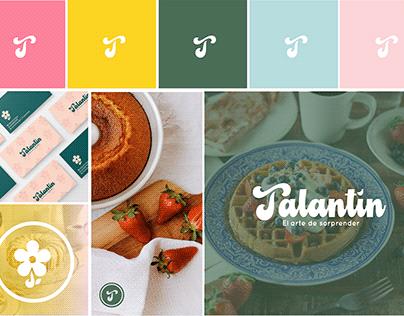 Talantín - DIseño de marca para desayunos