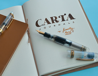 Carta Journals Branding and Product Design