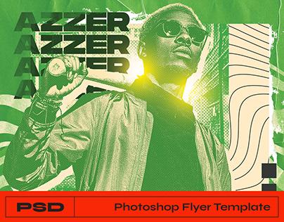 Hip-hop Flyer Photoshop Template