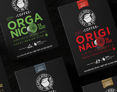 PACKAGING COFFEE ENCAPSULATED IN ORIGIN