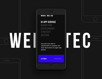 Webtec Agency – Company Website