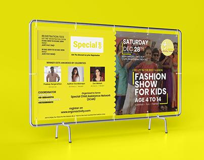 Kids Fashion Show Banner