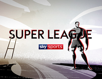 SUPER LEAGUE /// RUGBY LEAGUE // TITLE / BUMPERS