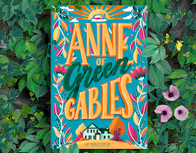'Anne of Green Gables' - Book cover design