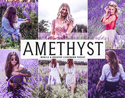 Free Amethyst Mobile & Desktop Lightroom Preset
