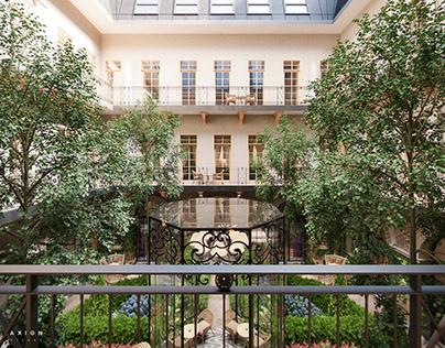 Aria Hotel Extension - Atrium