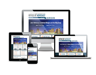 Advocacy Online Newsletter Template