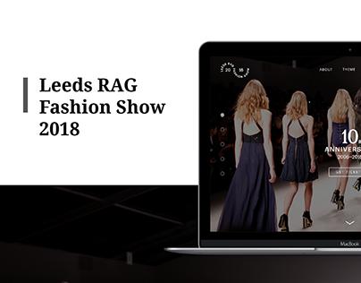 Leeds RAG Fashion Show 2018
