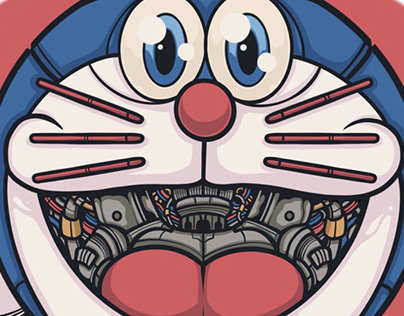 Doraemon Illustration Series