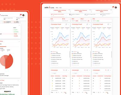 Marketing SaaS Platform (Web & Mobile)