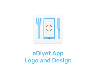 eDiyet App Logo and Design