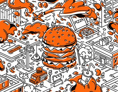 hamburger city