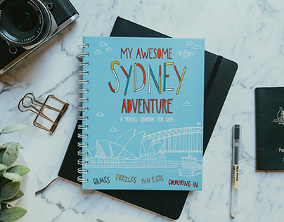 MY AWESOME SYDNEY ADVENTURE — kid's activity book