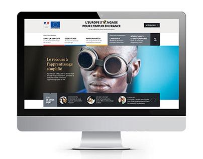 Fonds Social Européen - Website