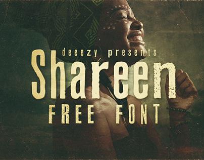 Shareen - Free Font Deeezy