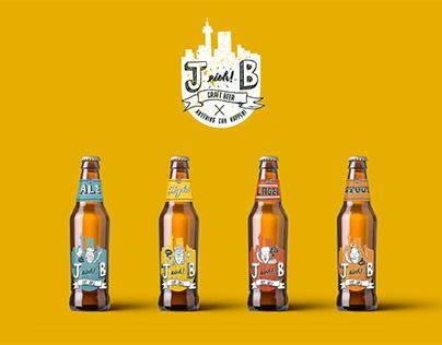 J-Eish-B Craft Beer Branding // Packaging