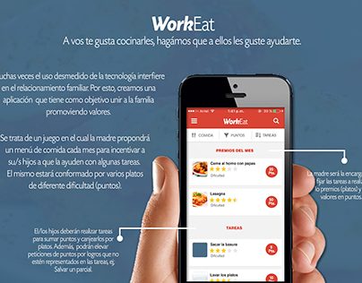 Workeat - App