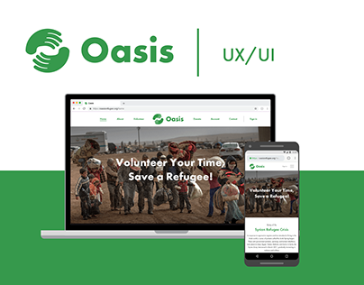 Oasis: Mock Non-Profit Website