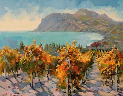 Vineyards in Koktebel
