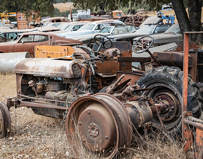 Rusty Relics to be Admired