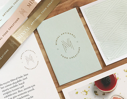 Minval Artisanal Food Creations // Logo & Pattern