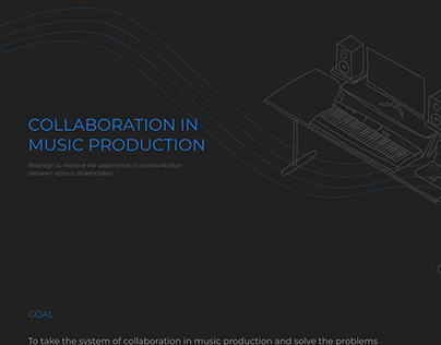 Collaboration in music production - a systems approach