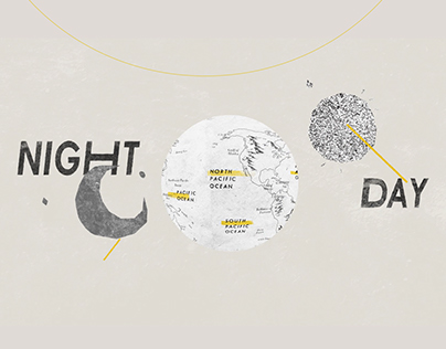 Day and Night WorldMap