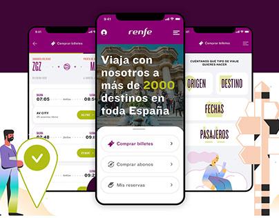 Renfe App redesign