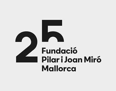 25th anniversary Miró Mallorca Fundació
