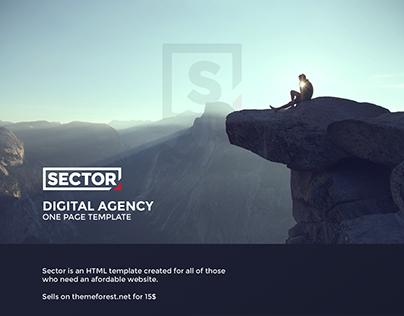Sector - Creative HTML Portfolio Template
