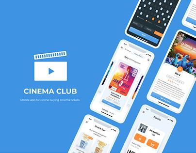 Cinema App | UI/UX Design