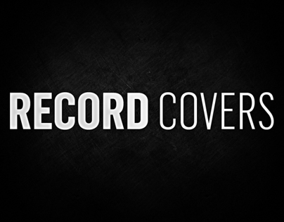 Record Covers (CDs, EPs, Vinyls and Labels