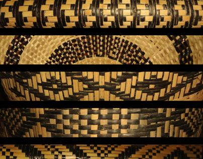 Cartaz: Artesanato indígena Mbyá-Guarani
