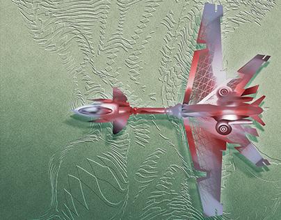 aircraft Wings of Mars
