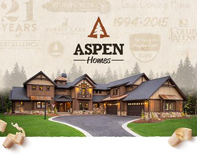Aspen Homes Re-Brand